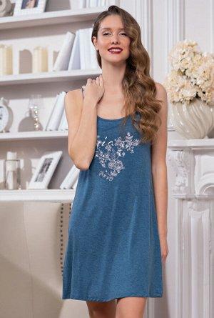 Ночная сорочка Kamile Цвет: Синий. Производитель: Mia-Mella