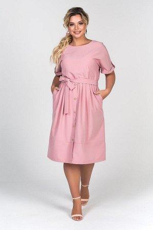 Платье Стефания №3 .Цвет:розовый
