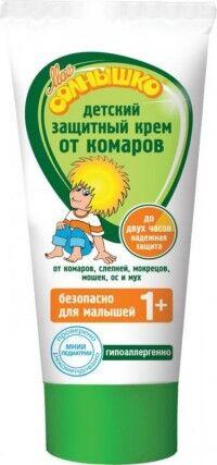 Моё солнышко Крем от комаров детский защитный 50 мл
