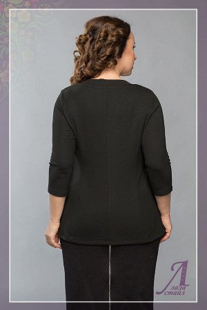 *Блуза. Цвет Черн+беж