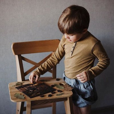 Mr. Puzz - деревянные пазлы для всей семьи! — Пазлы для деток возраста 3+ — Развивающие игрушки