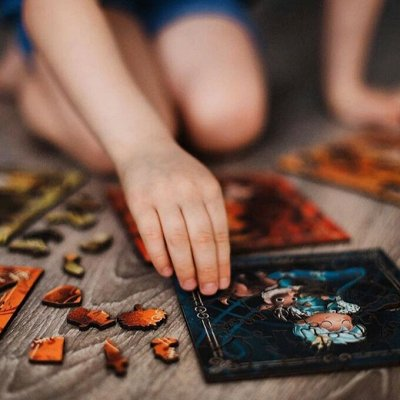 Mr. Puzz - деревянные пазлы для всей семьи! — Пазлы для деток возраста  6+ — Развивающие игрушки