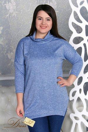 Пуловер «Олеся» голубой