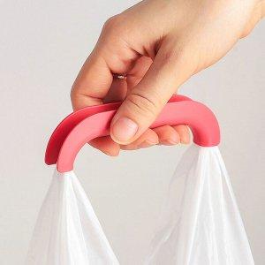 Ручка-держатель для переноски пакетов, цвет МИКС