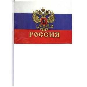 Флаг РОССИЯ, 60х90 см
