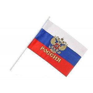 Флаг РОССИЯ, 16х24 см