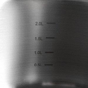 Кастрюля Korkmaz Pro line, 2,8 л, 20?9 см