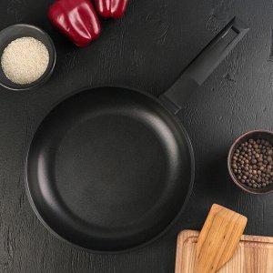 Сковорода «Классик», d=28 см, ручка soft-touch, антипригарное покрытие