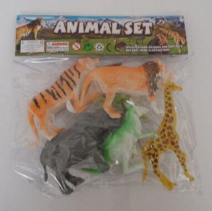 Набор животных  5 шт
