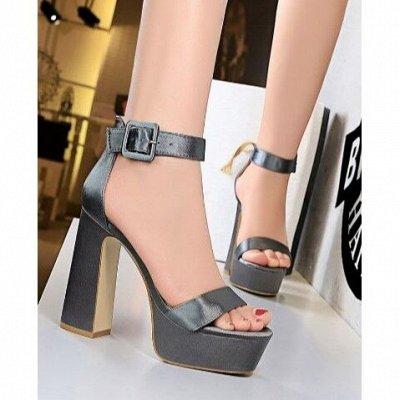 🌺Платья, сарафаны и классные туфли 🌺 — Босоножки на широком каблуке — На каблуке