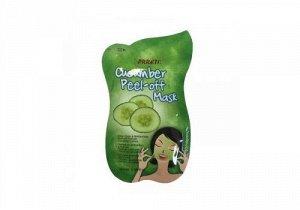 """Очищающая маска-пленка """"Prreti"""" для лица с экстрактом огурца """"Cucumber Peel-off Mask"""" 10 мл / 576"""