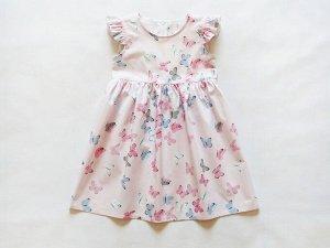 Платье детское ПД-284 розовый