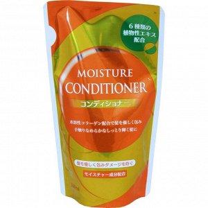 001094 NAGARA MOISTURE Восстанавливающий увлажняющий кондиционер д/сухих и поврежденных волос с экстрактом 6 трав, морской солью