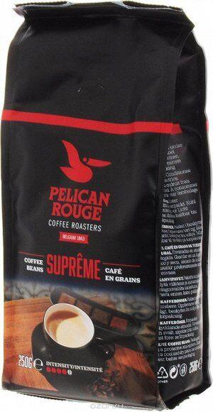 """Кофе в зернах PELICAN ROUGE """"SUPREME"""" (A-60) UTZ 0.5кг"""