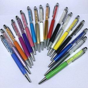 Ручка-стилус с кристаллами (В  акриловом футляре)