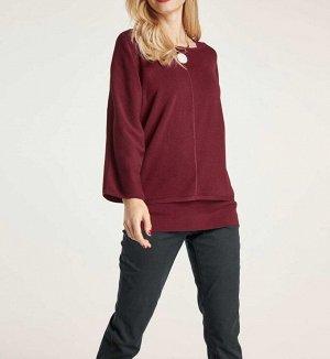 Пуловер и топ, красные