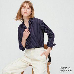 UNIQLO №8-популярный бренд японской одежды! Акции!Рассрочка! — Женские рубашки, блузки — Рубашки и блузы