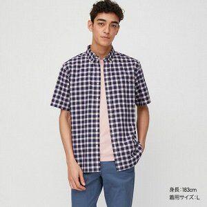 UNIQLO №8-популярный бренд японской одежды! Акции!Рассрочка! — Мужские рубашки — Рубашки