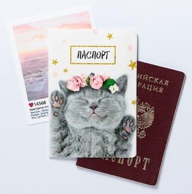 🌸Гипермаркет товаров для всей семьи! Модные новинки! 🌸 — Обложки для паспортов — Обложки для документов