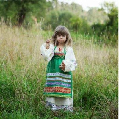 Русские народные костюмы-51. Готовимся к новому сезону! — Рубаха Василиса и фартуки для детей и взрослых — Одежда