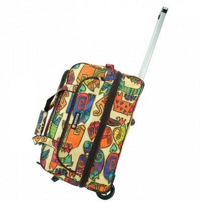 Три тысячи товаров для отпуска. Чемоданы, аксессуары — Сумка дорожная на колесах — Рюкзаки и сумки