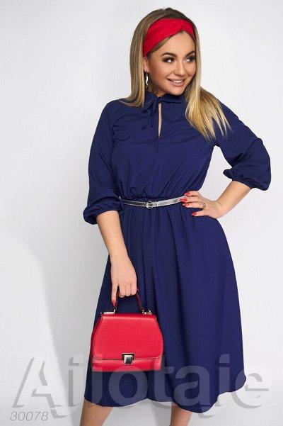 AJIOTAJE-женская одежда 30. До 62 размера — Платья средней длины 48+ (2) — Платья