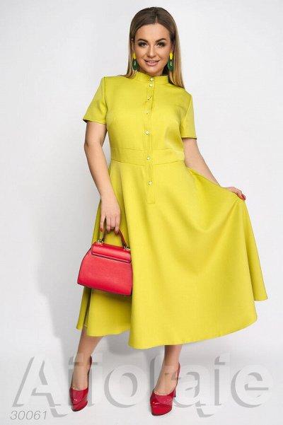 AJIOTAJE-женская одежда. До 62 размера — Платья средней длины 48+ (1) — Платья