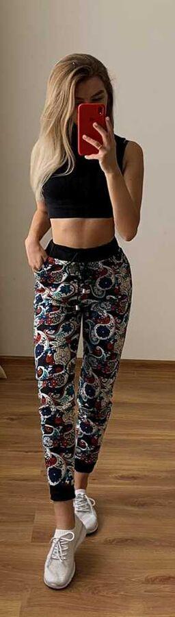 Брюки Женские с карманами Ткань Вискоза Возможно замена цвета