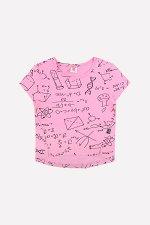 Фуфайка(Весна-Лето)+girls (розовый, формулы)