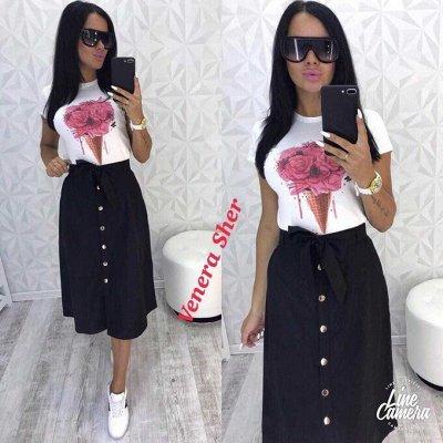 🌟Яркая одежда и аксессуары для всей семьи от 99 рублей!🌟  — Яркие летние юбки — Прямые юбки