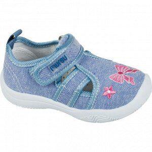 Кеды 21-13,2 см 23-14,5 см 25-15,8 см 26-16,3 см  Цвет обуви:Голубой Материал верха:Текстиль Материал подклада:Хлопок
