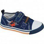 Кеды 27-17 см 30-18,8 см 31-20,7 см  Цвет обуви:Синий Материал верха:Текстиль Материал подклада:Хлопок