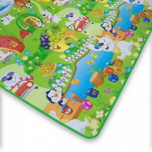 Детский игровой коврик 100x180 см