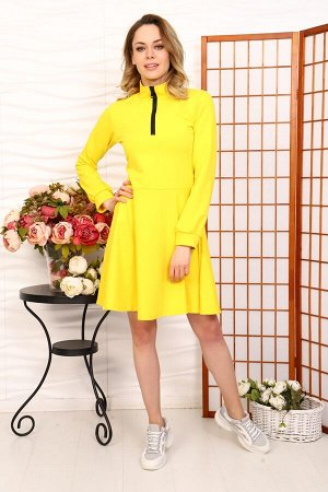 Д520 Платье Айва (Желтое)