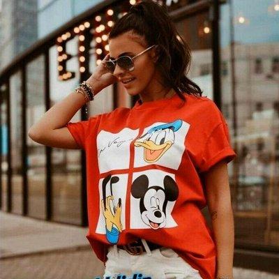 🌟Яркая одежда и аксессуары для всей семьи от 99 рублей!🌟  — Хиты! Самые модные футболочки — Футболки