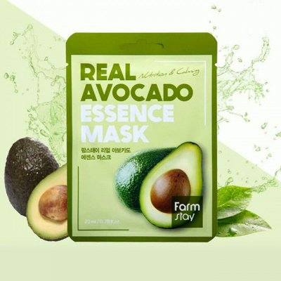 Korea - Shop: профессиональный уход для волос дома — Тканевые маски для питания кожи — Для лица