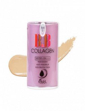 Ekel ВВ крем с коллагеном Collagen BB Cream Pump