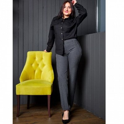 ™R✪Y-шикарные брючки из турецких тканей ! Распродажа  — Большие размеры (Батал) — Одежда