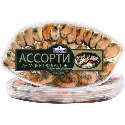 Рыба и Морепродукты от Рыбомиров! — Морские деликатесы — Закуски из морепродуктов