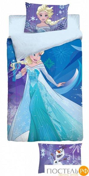 """Комплект постельного белья """"DISNEY"""" 1,5СП Princess КПБ DISN 1551 25037+8284/12 ПН10 01 (Пакет ПВХ)"""