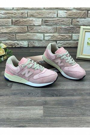 Женские кроссовки S016-6 розовые