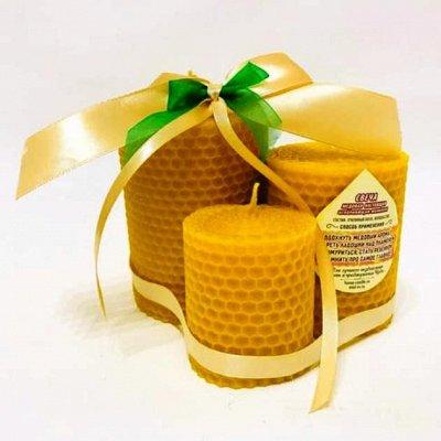 Медовые свечи ► С травами 🕯 церковные праздничные