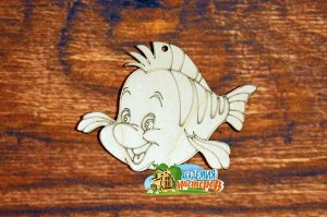 Рыбка Флаундер