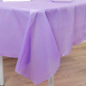 Скатерть «Праздничный стол», 137х183 см, цвет фиолетовый