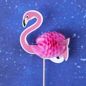 Шпажки «Розовый фламинго», набор 6 шт.