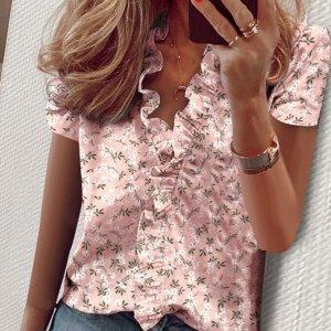 Блузка В современном женском гардеробе многочисленные топы, блузоны, туники, рубашки и блузы, как правило, выступают в роли основных предметов, уверенно обгоняя по популярности платья. Такая ситуация