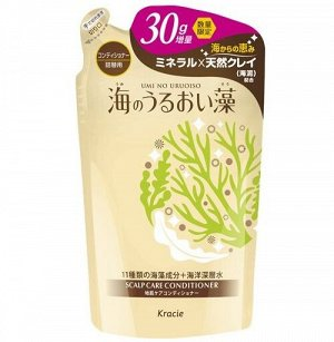 """75997kr """"UMI NO URUOISO"""" Бал-опол. для ухода за кожей головы с экс. морских водорослей, 420г,см.у"""