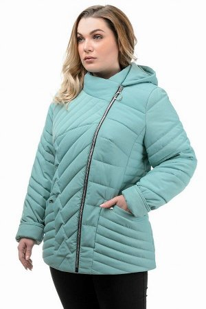 Куртка демисезонная «Зарина», 50-56, арт.280 мята