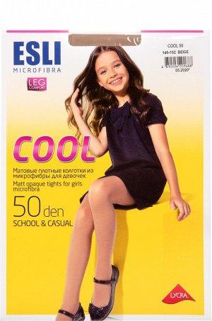 Cool 50 Колготки детские матовые, из микрофибры 50 den (Esli)