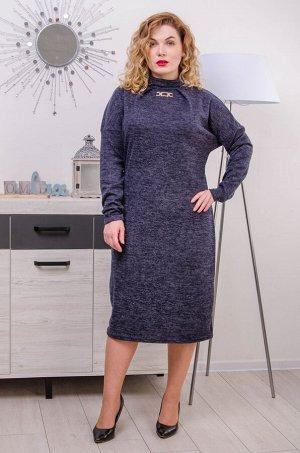 Платье Коко джинс (52-60)